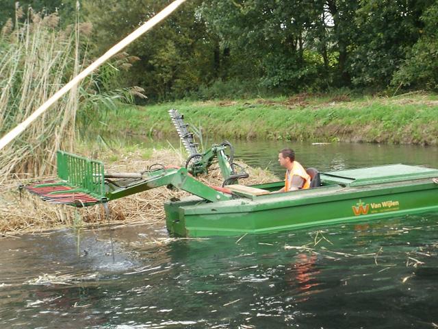 Maaionderhoud<br/>waterlopen