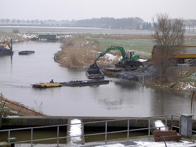 Baggeren<br/>waterlopen